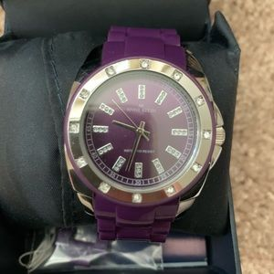 NWT Anne Klein Purple Watch